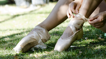 バレエを美しく踊りきるためのポイントイメージ